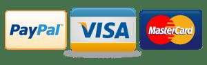 Master Card Visa PayPal