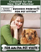 Checklist for Pet Visit Jobs