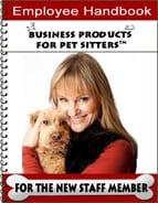 Pet Sitting Employee Handbook (54-Page Handbook)