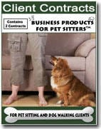 Contracts for Pet Sitting and Dog Walking Clients