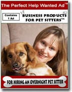 The PERFECT Help Wanted Ad: Overnight Pet Sitte