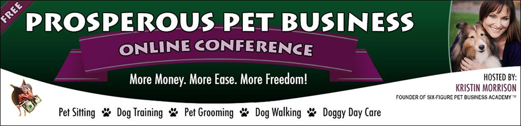 Prosperous Pet Business Online Conference